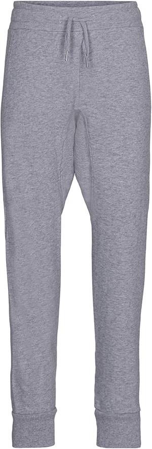 Alexisa - Grey Melange - Grå, loose fit sweatpants