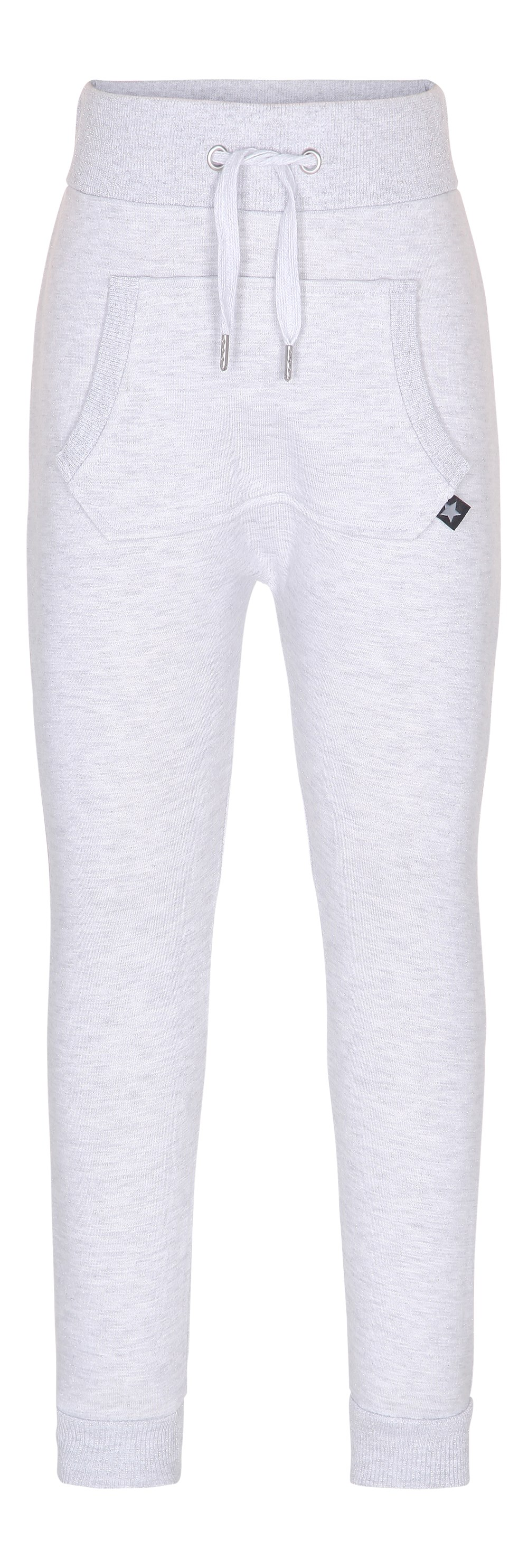 Aliki - Snow Melange - lysegrå sweatpants