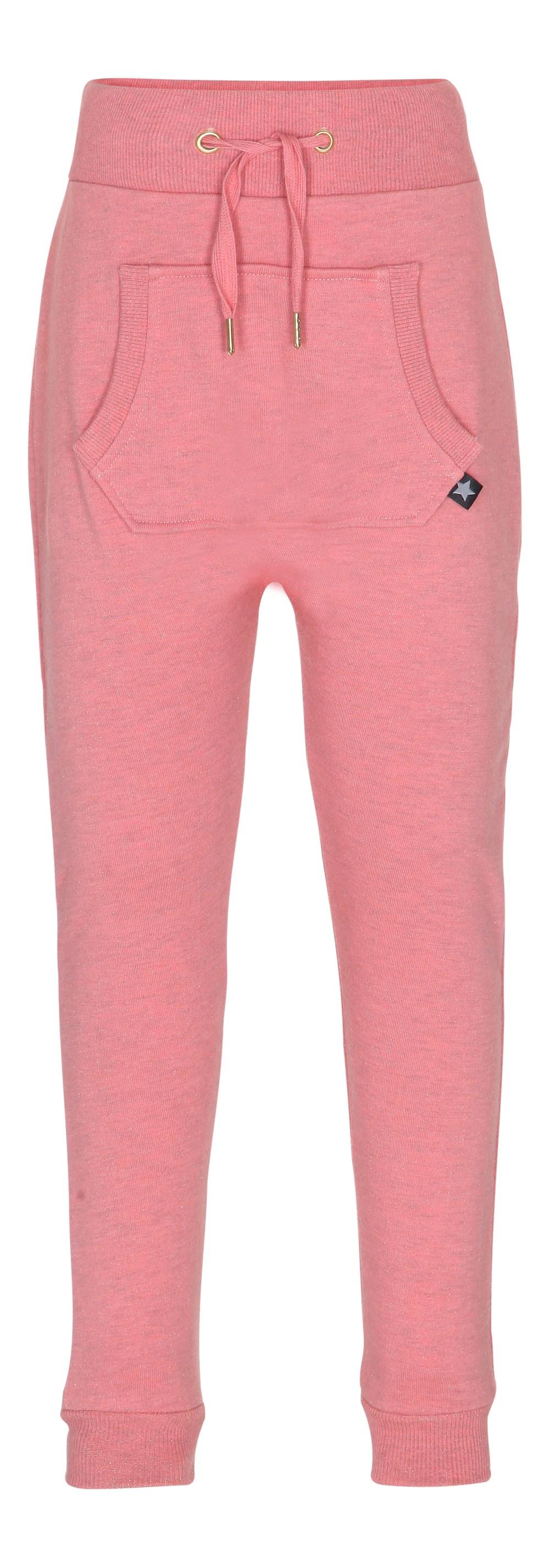 Aliki - Spicy Pink Melange - rosafarvede sweatpants
