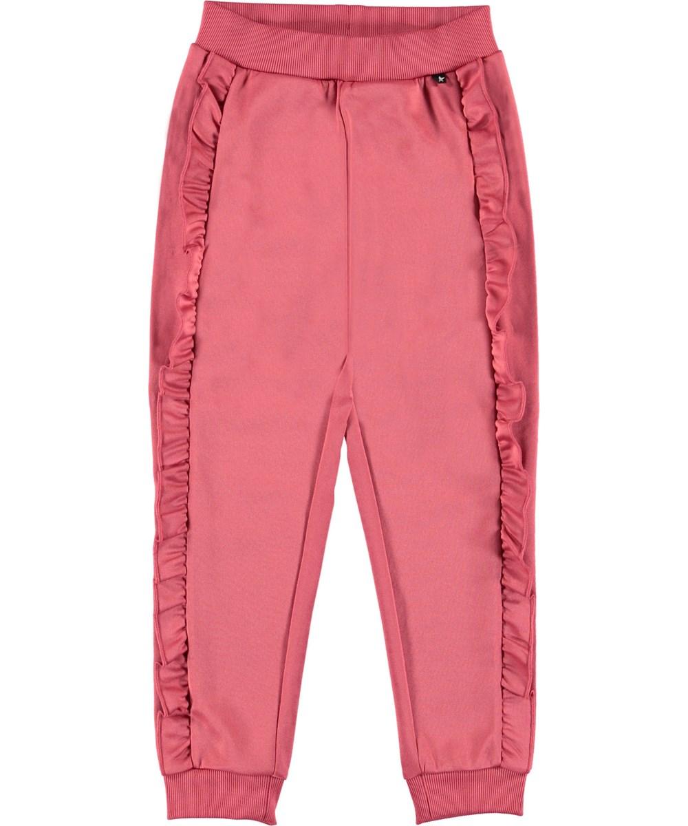 Aline - Fairy Blossom - Trackpants rosa sporty bukser.