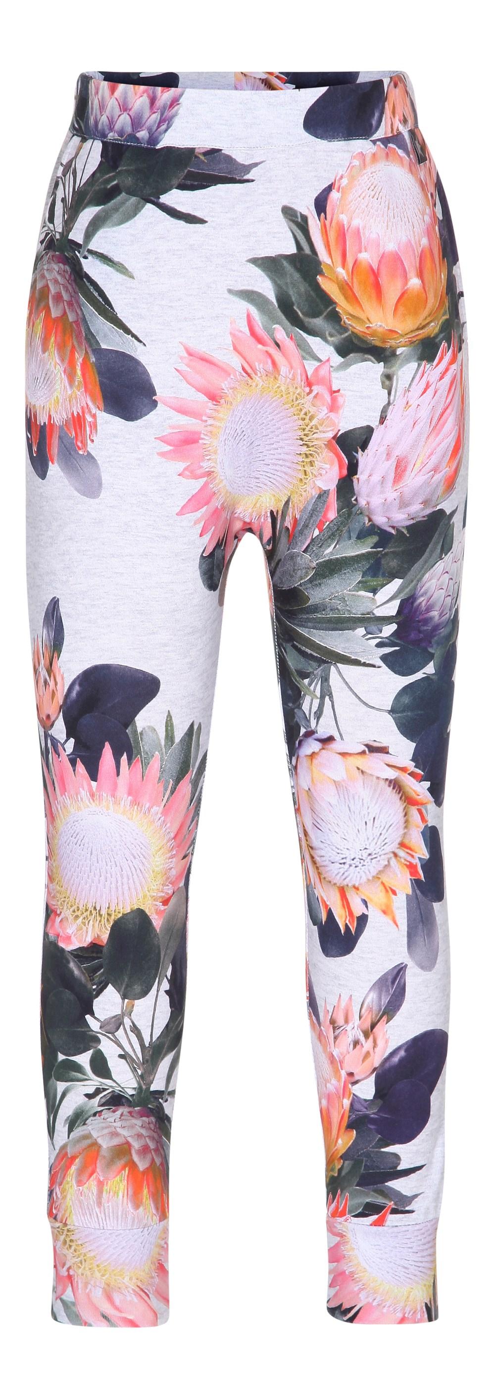 Alvina - Sugar Flowers - løse bukser med blomsterprint