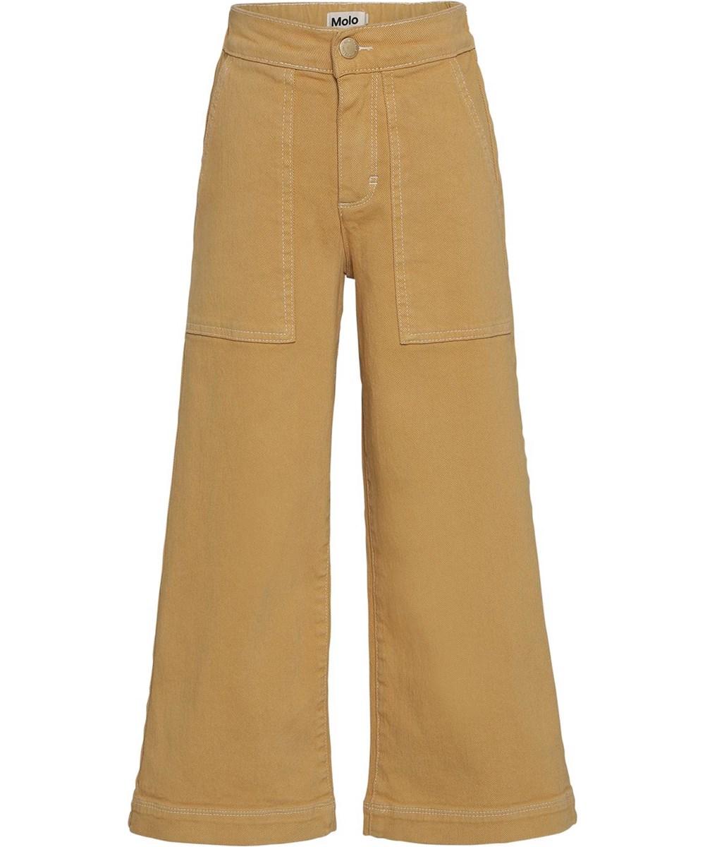 Amelie - Honey - Gule brede bukser