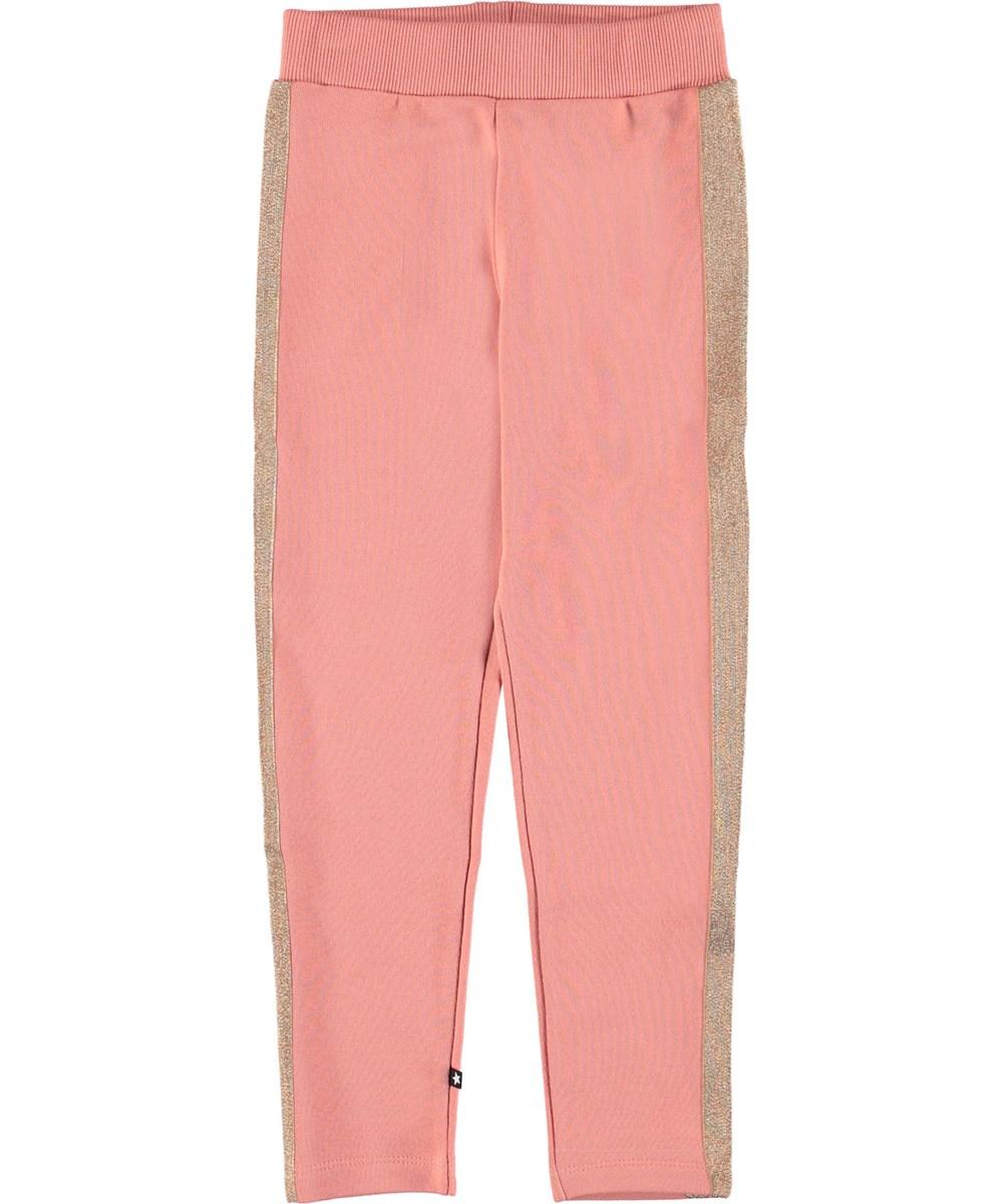 Antonia - Rosewater - Sweatpants lyserøde sporty bukser.
