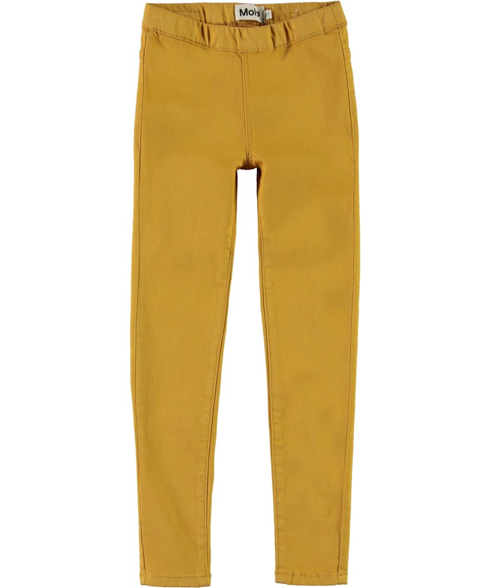 April - Nugget Gold - Jeans leggings i gul