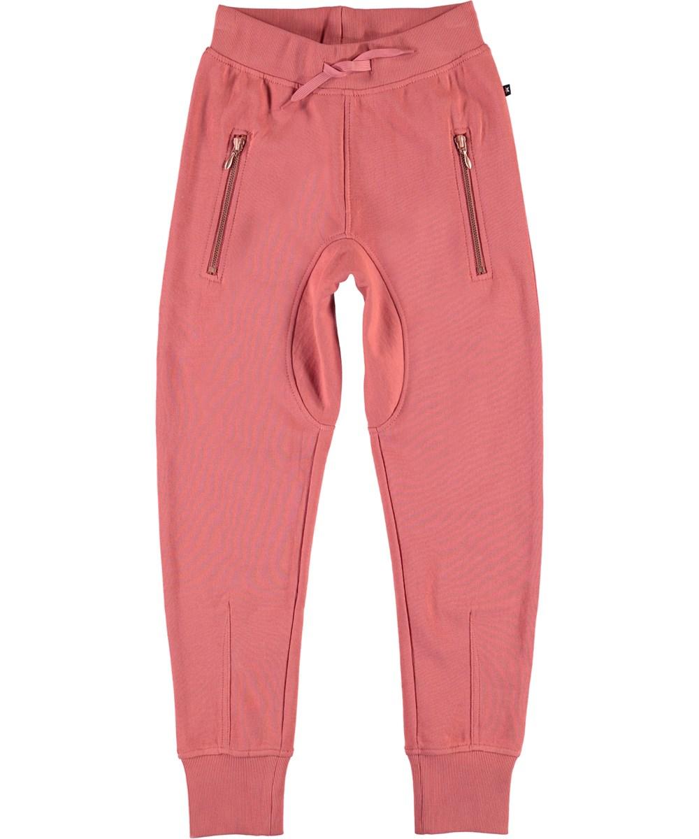 Ashley - Faded Rose - Mørke rosa sweatpants