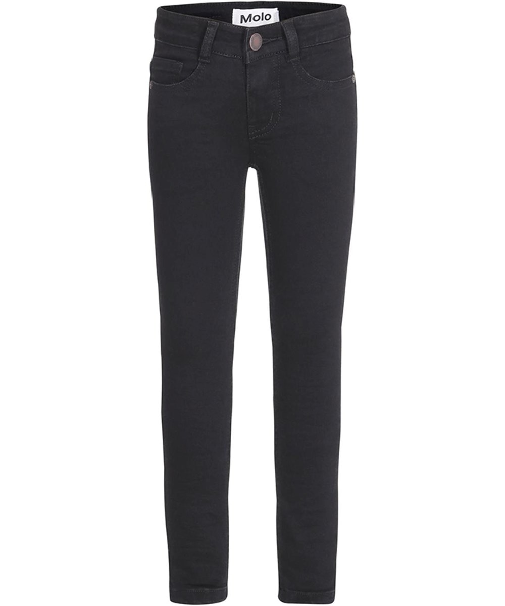 Augustine - Black Denim - Sorte slim fit jeans