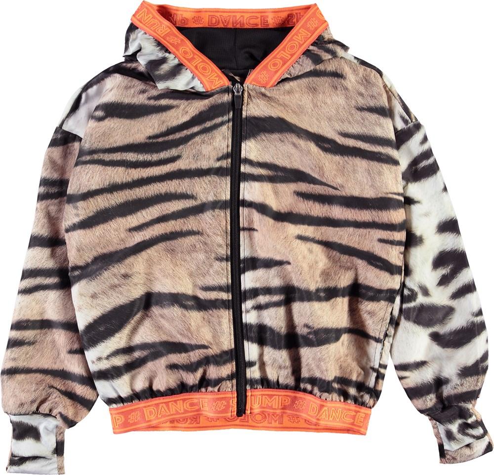Ophelia - Wild Tiger - Sports jakke med tiger print