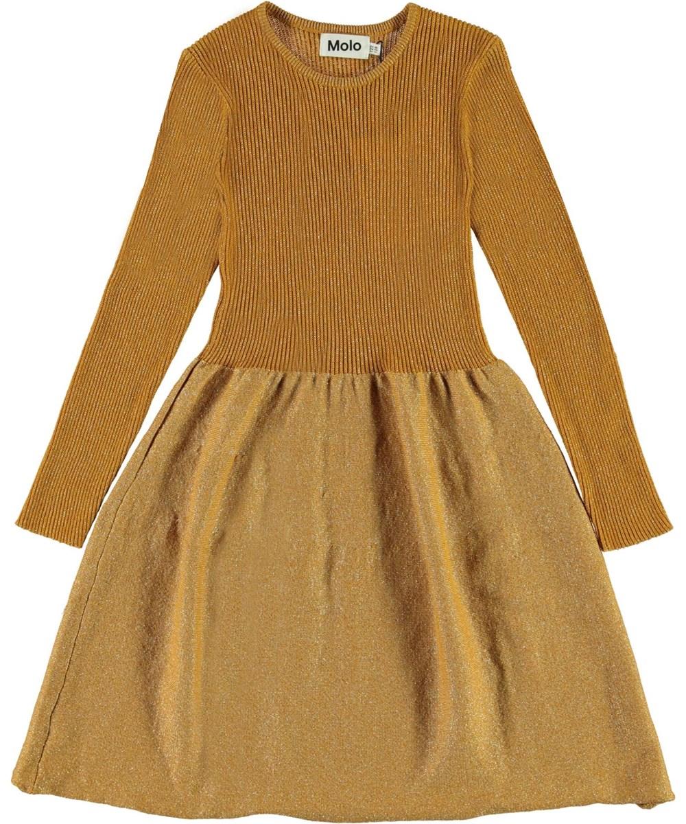 Cameron - Autumn Leaf - Gylden glimmer kjole