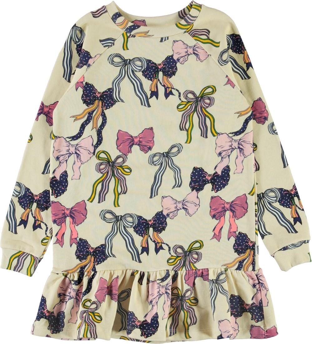 Carlotta - Bowtastic - Økologisk kjole med sløjfer