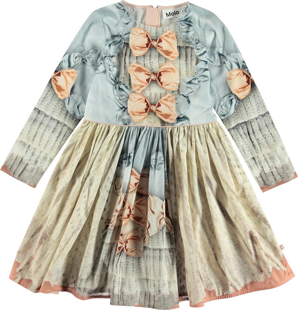 Clarabelle - True Princess - Kjole med print af sløjfer.
