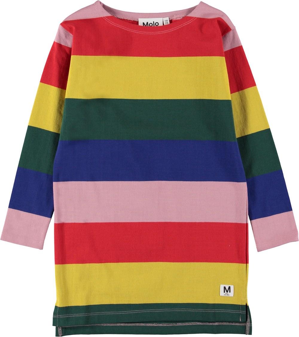 Colory - Midwinter Rainbow - Kjole i regbue farver.