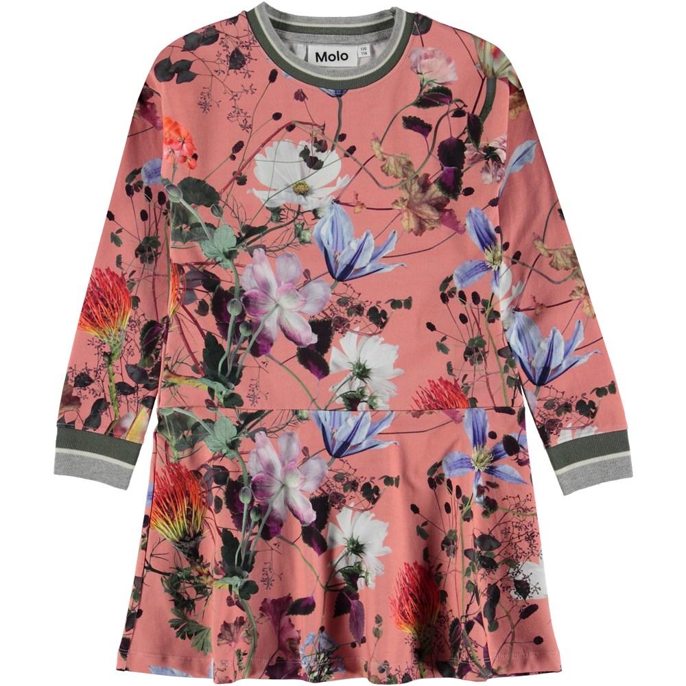 Conny - Flowers Of The World - Blomstret sporty kjole.
