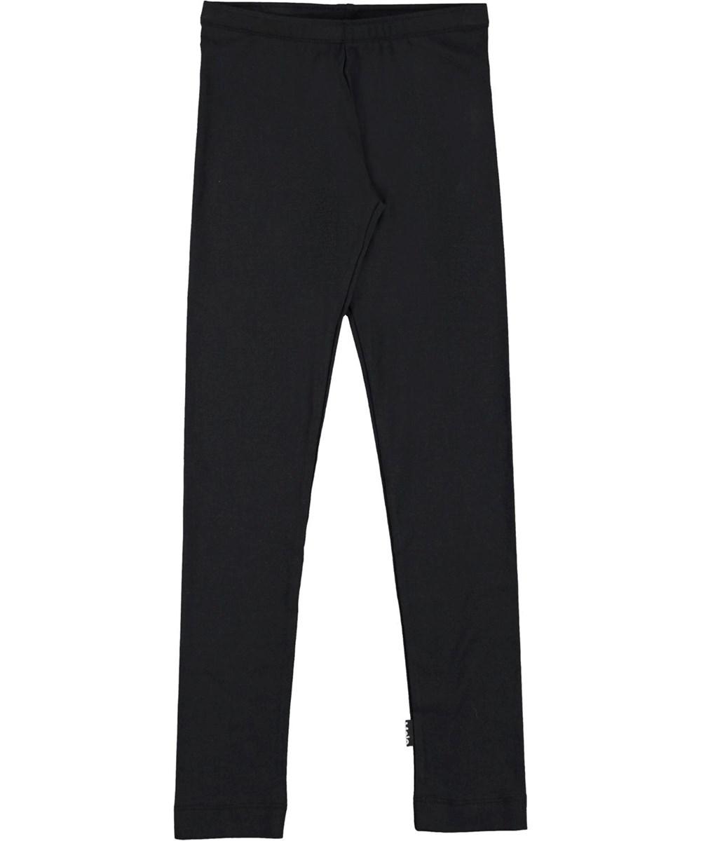Nica - Black - Økologiske sorte leggings