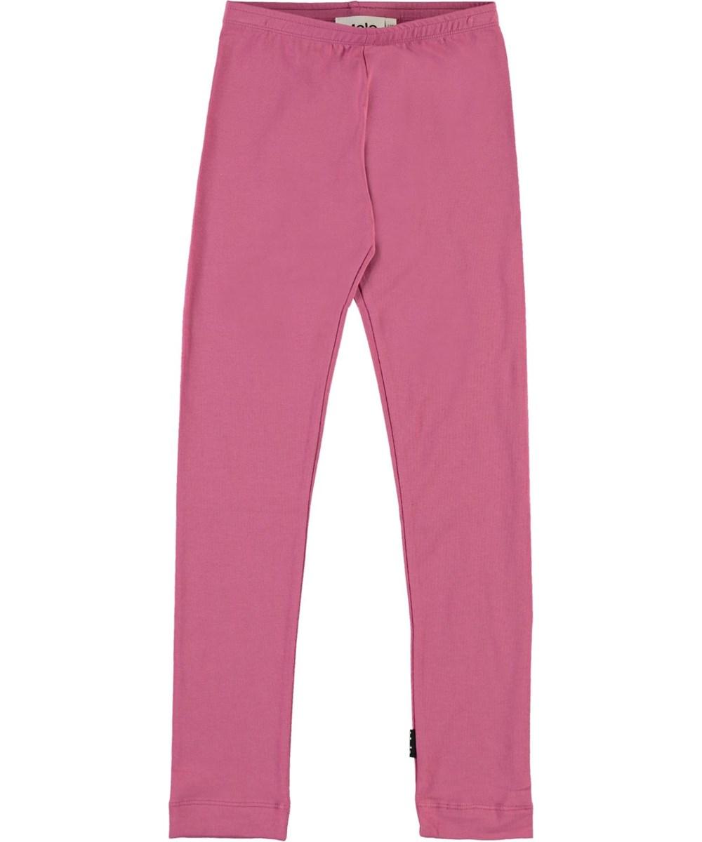 Nica - Wildrose - Økologiske fuchsia leggings