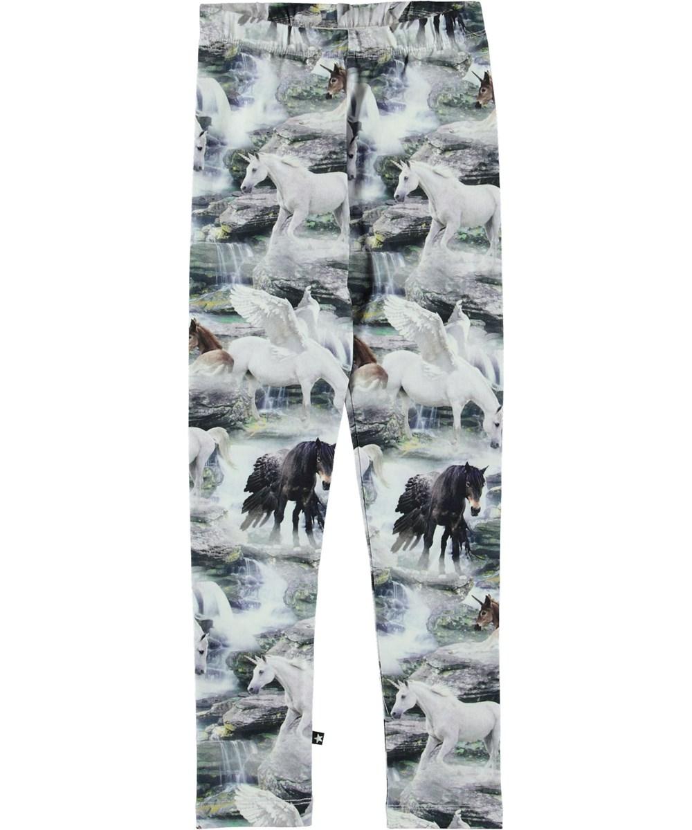Niki - Mythical Creatures - Leggings med heste.