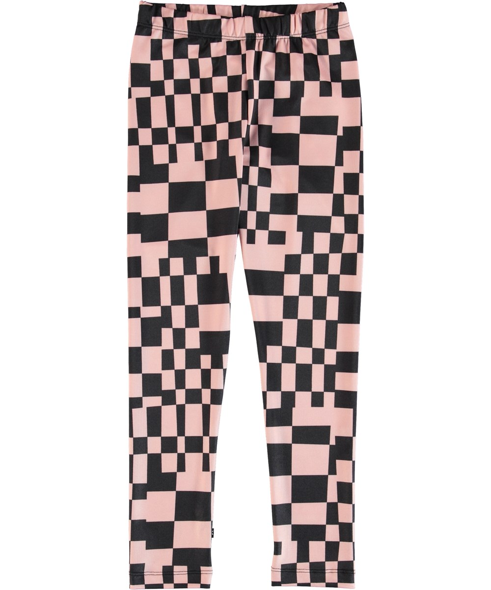 Nikia - Grid Check - Leggings