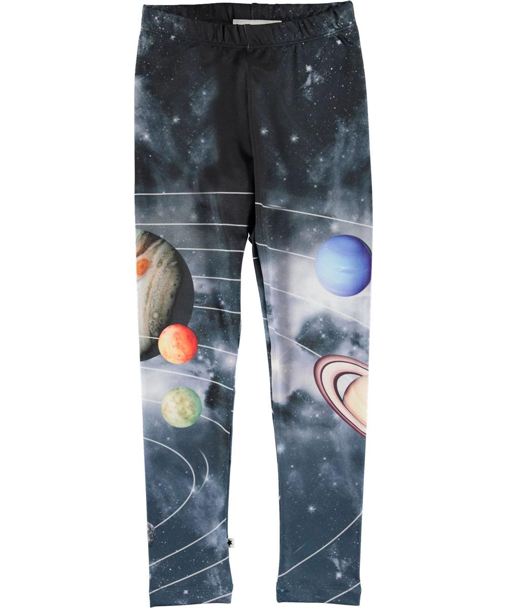 Nikia - Solar System Legging - Leggings med planeter.