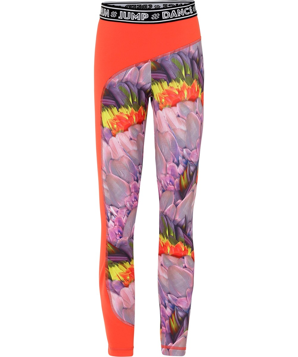 Olympia - Cacatua - Blomstrede sports leggings