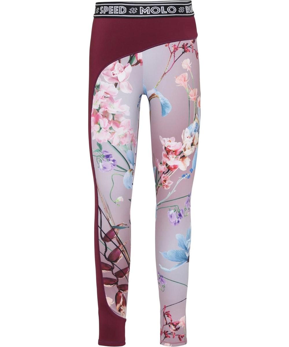 Olympia - Motion Flowers - Blomstrede sport leggings