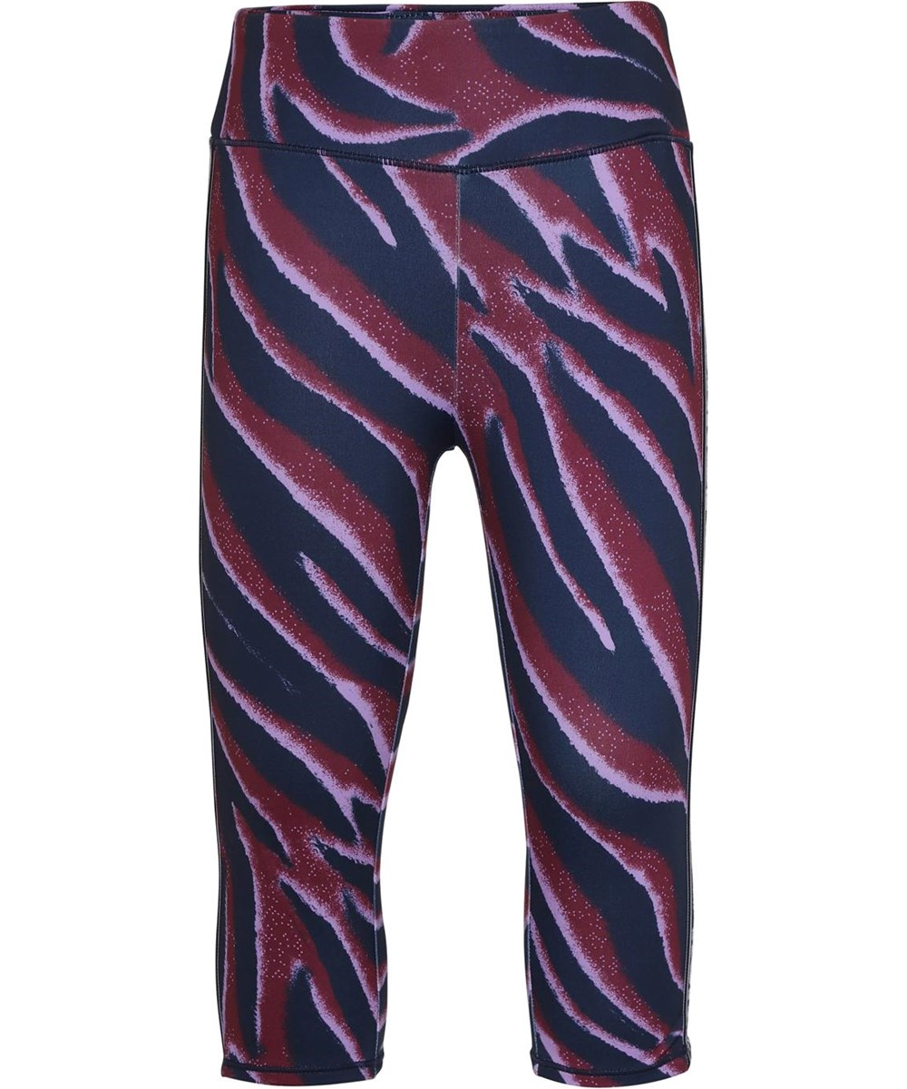 Orlaith - Zebra Stripes - Korte zebra leggings