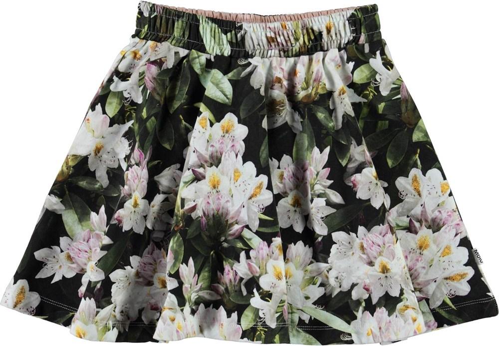 Barbera - Pretty Puppy AOP - Økologisk blomstret nederdel