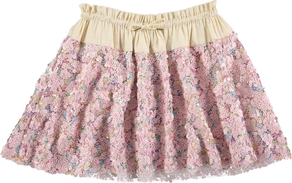 Bellis - Multi Glitter - Nederdel med pailletter