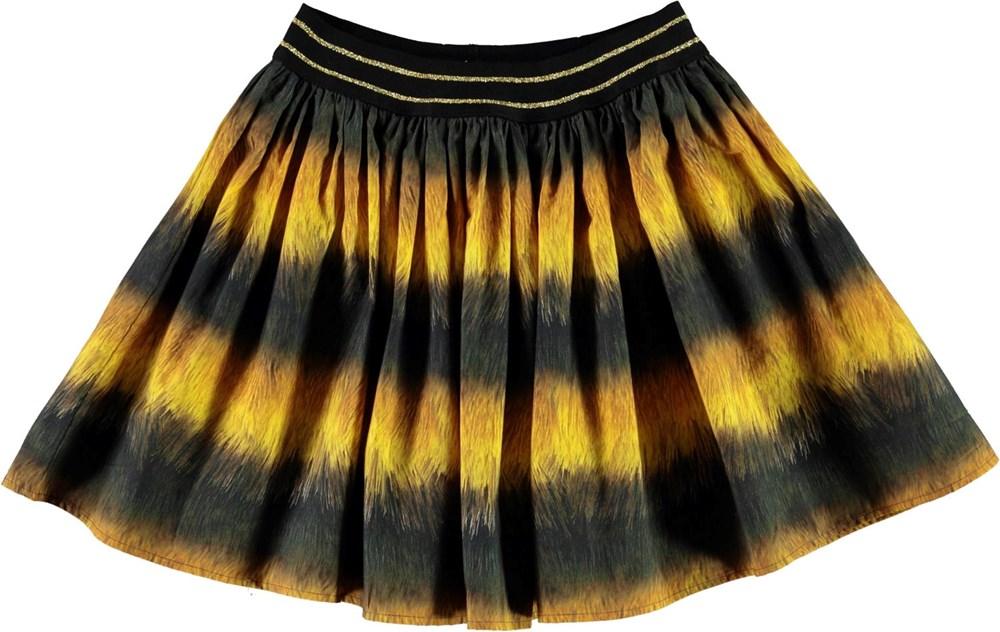 Brenda - Bee - Sort og gul bi nederdel