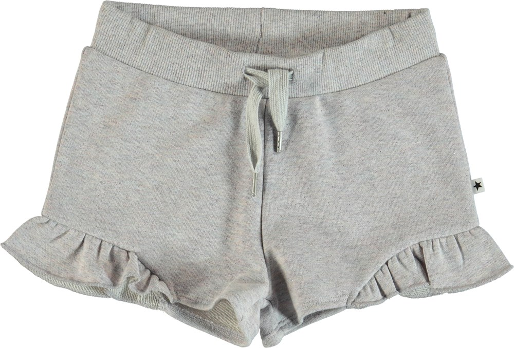 Ally - Purple Tint Melange - Shorts