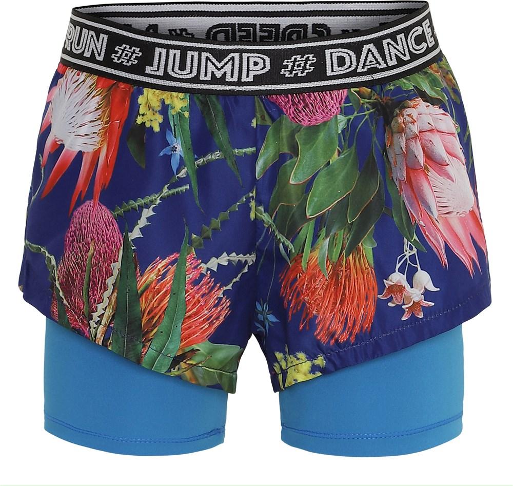 Omari - Wild Flowers - Blomstrede sports shorts