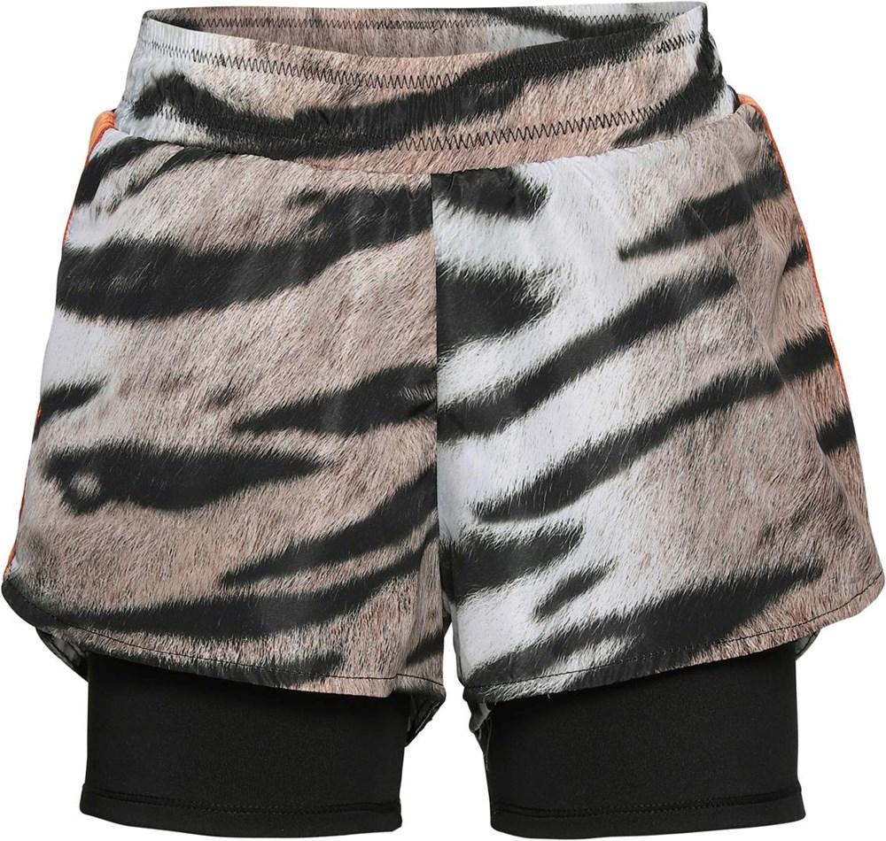 Omari - Wild Tiger - Sport shorts med tiger print