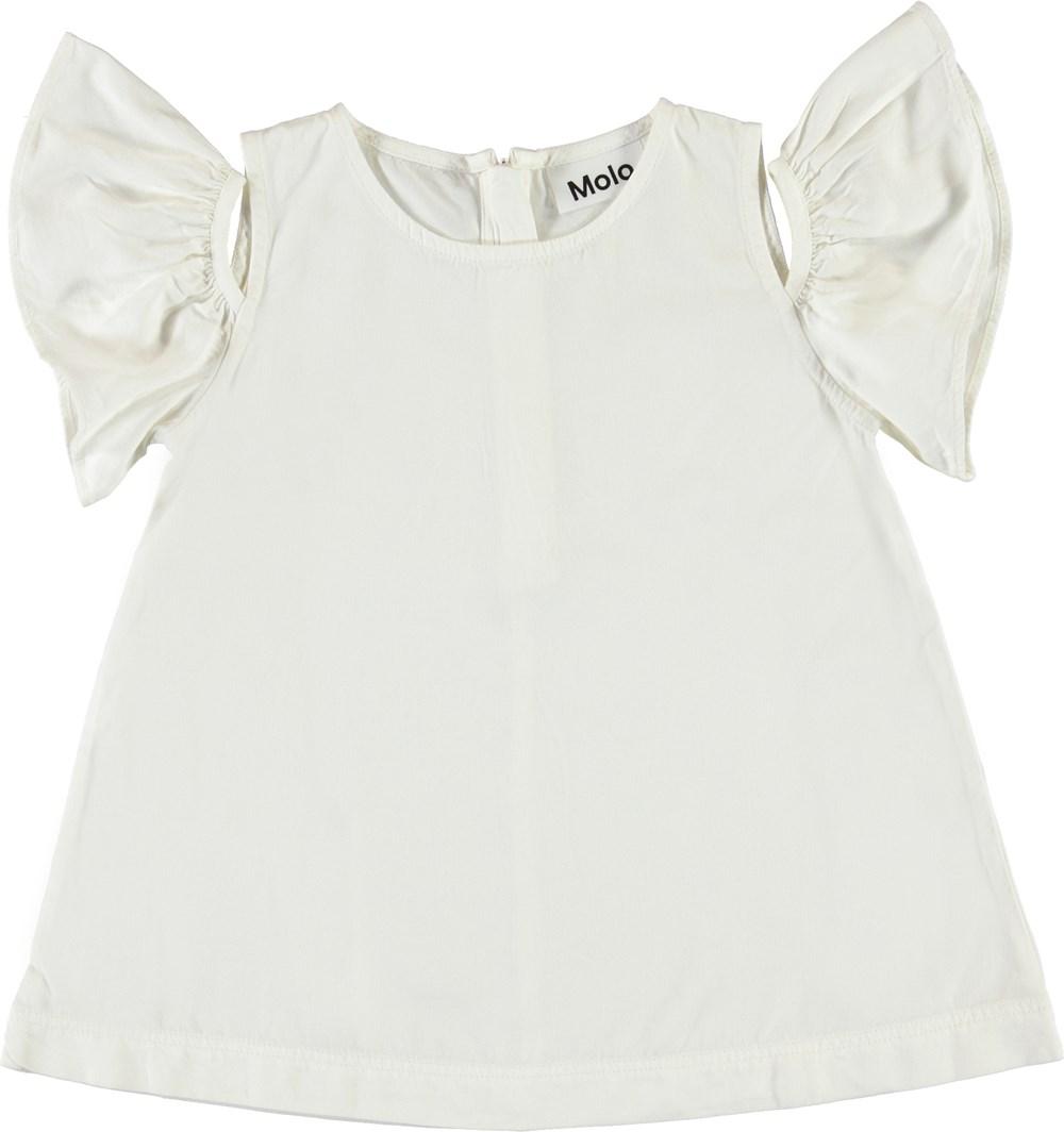 Refas - White Star - Hvid top