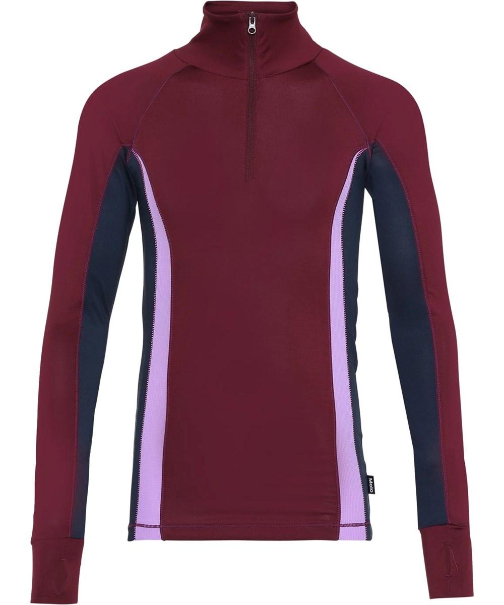 Oana - Colour Block - Color-blocking sports bluse