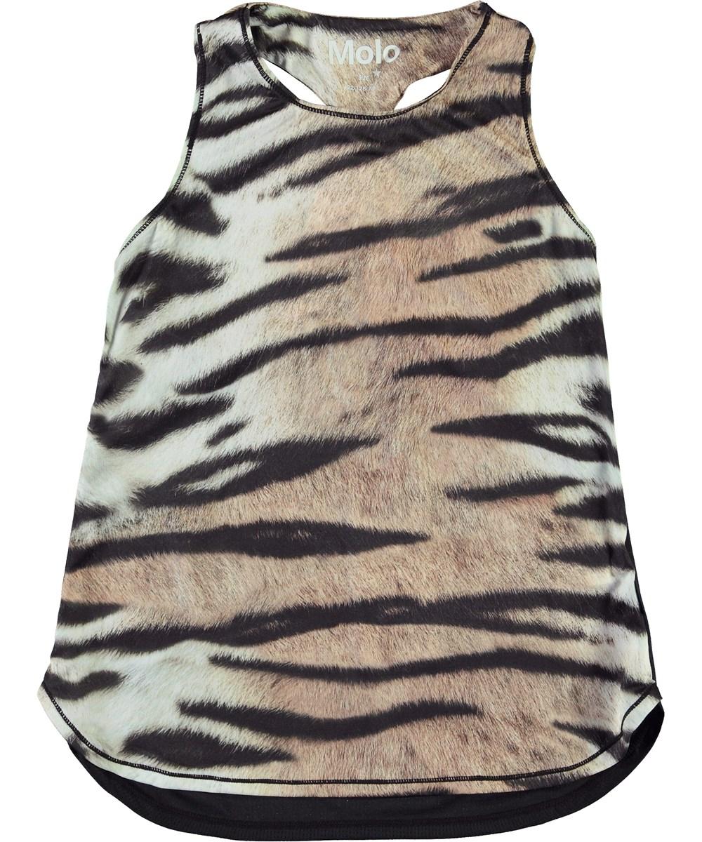 Oriana - Wild Tiger - Sports top i tiger print
