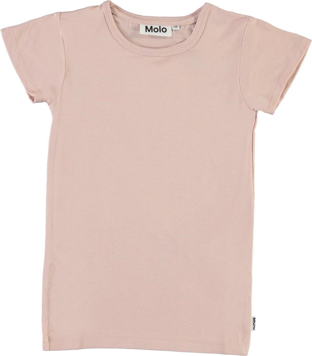 Rasmine - Petal Blush - T-shirt i rosa