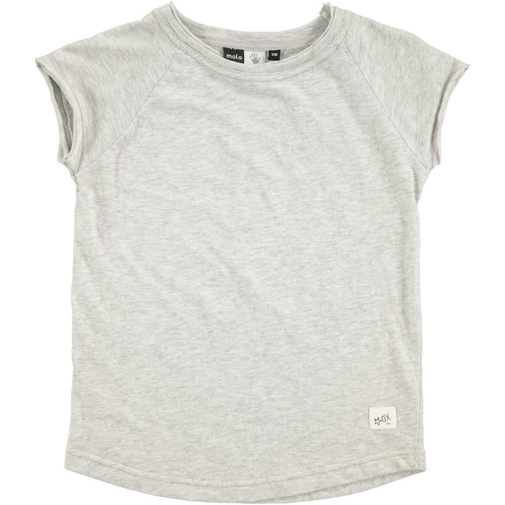 Reinette - Grey Melange - grå t-shirt