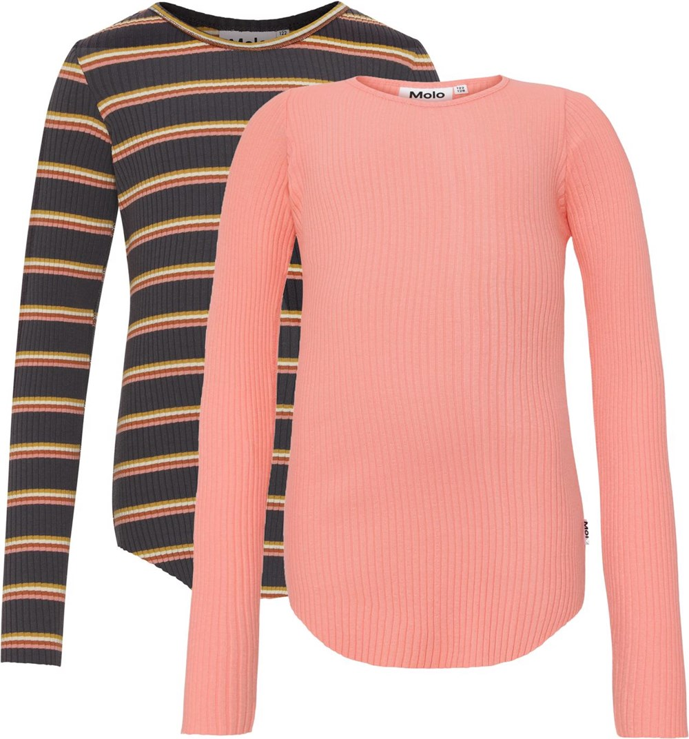 Rochelle 2-Pack - Coral Night -