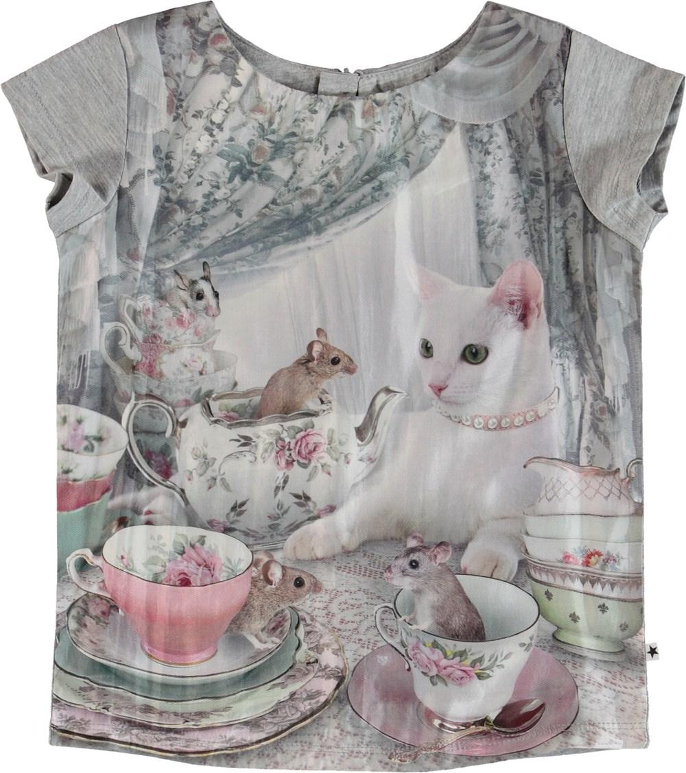Rubertha - Cat's Teaparty - T-Shirt