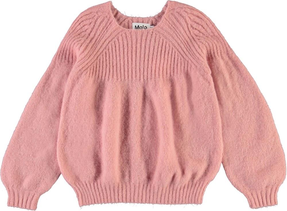 Gabriela - Rosequartz - Lyserød strik bluse