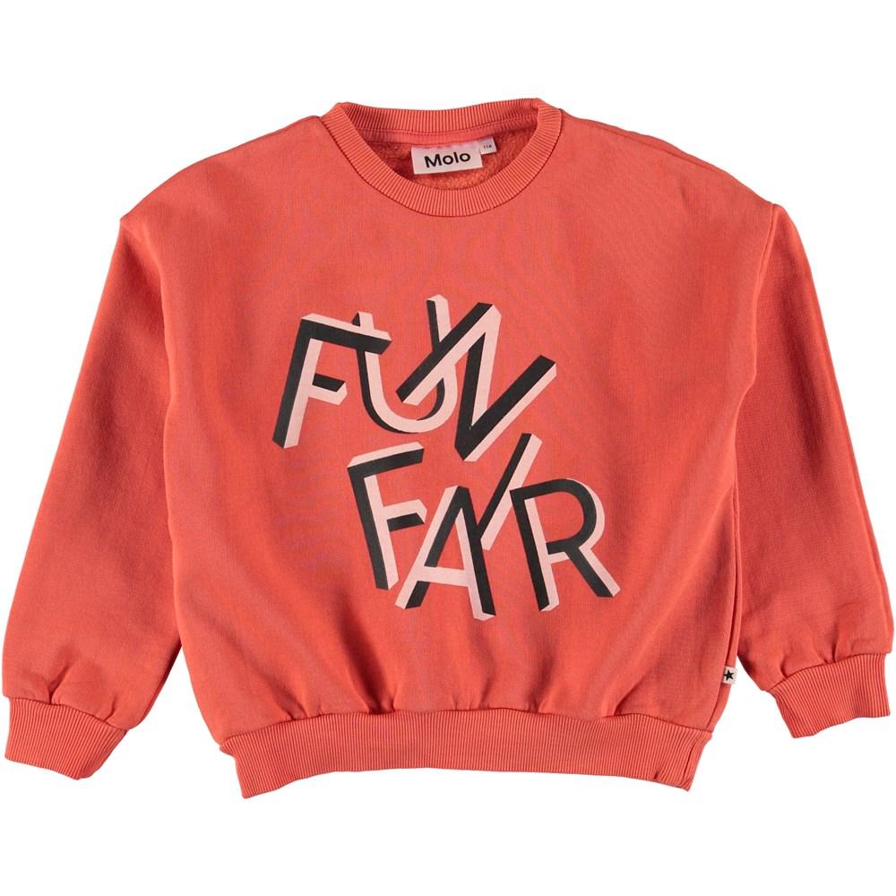 Maja - Hot Coral - Sweater