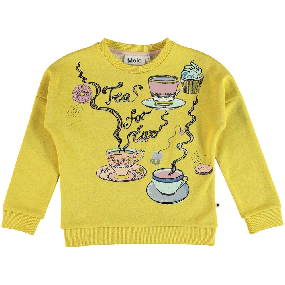 Marigold - Sunrise - Sweater - Orange Bloom