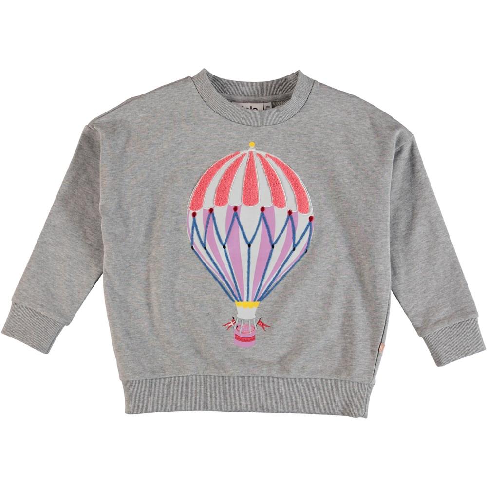 Maxi - Grey Melange - Sweater