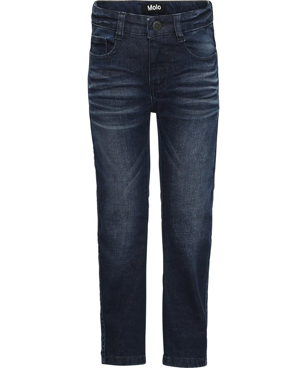 Alonso - Dark Indigo - Mörkblå tvättade denim jeans.
