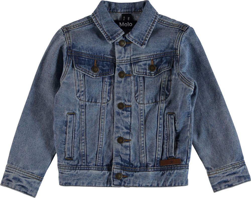 Harald - Stone Blue - Denim Jacka