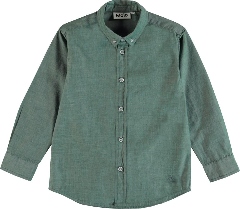 Rimmer - Galapagos Green - Klassisk skjorta i grön.