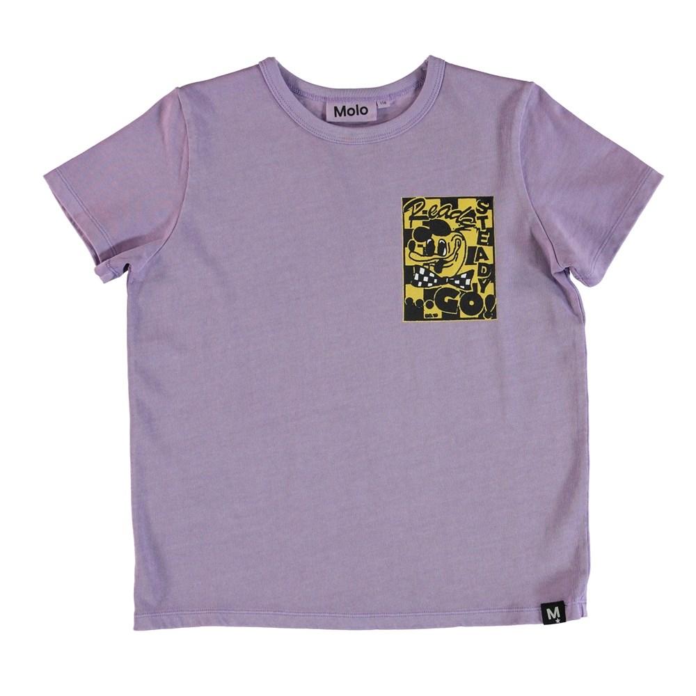 Raddix - Dusky Purple - T-Shirt .