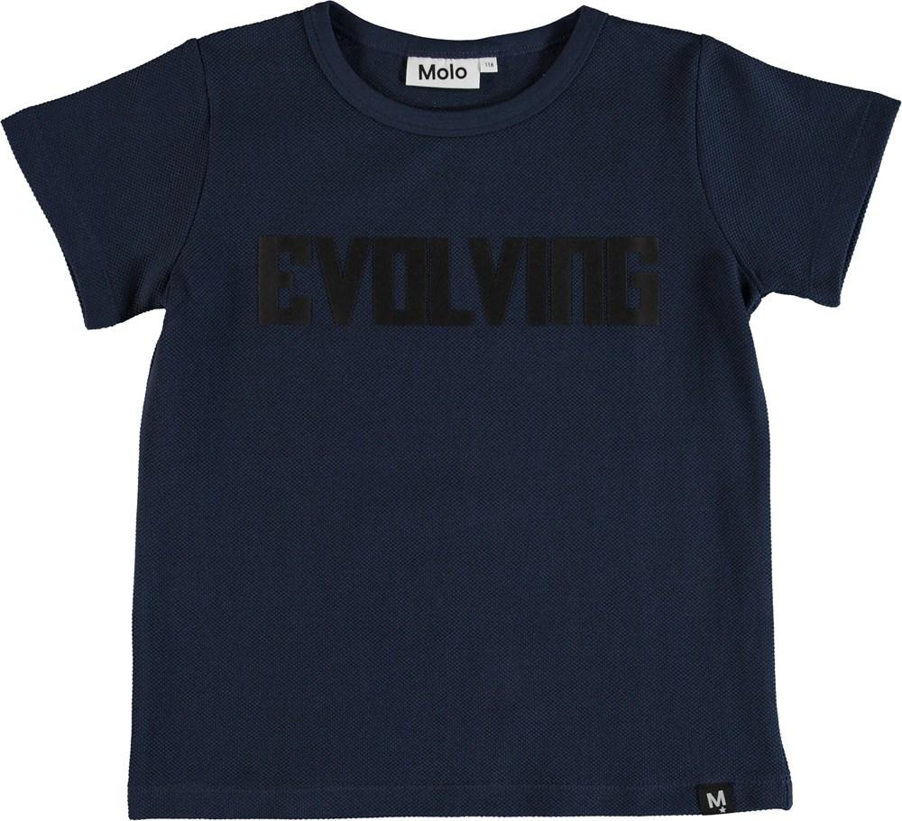 Raddix - Infinity - T-shirt med tryckt text.