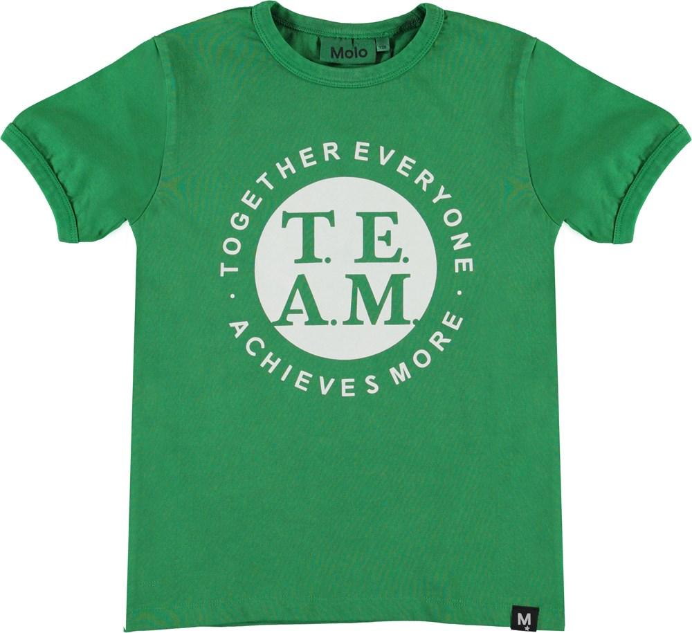 Radi - Jungle - Grön t-shirt med team tryck