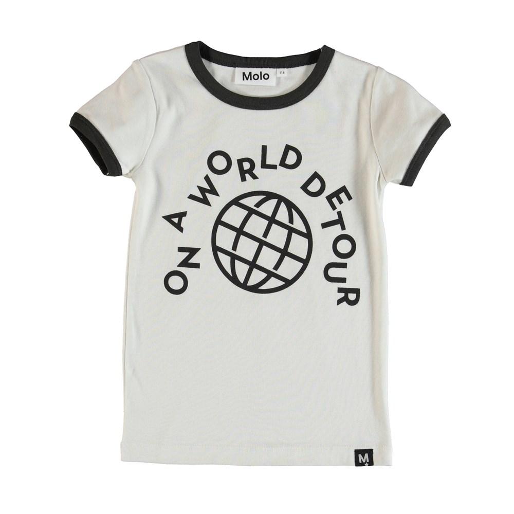 Radio - Dirty White - T-Shirt - Vit