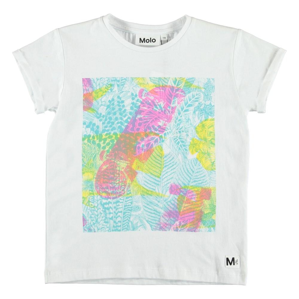 Rafe - Skate Illumination - Neon färgad t-shirt.
