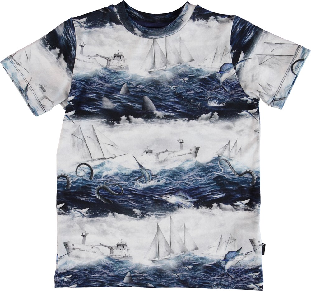 Ralphie - Sailor Stripe - T-Shirt